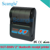 Bluetooth Sgt-B58IV를 가진 이동할 수 있는 휴대용 열 영수증 인쇄 기계