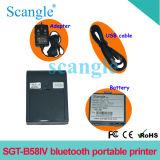Impressora de recebimento térmico portátil portátil com Bluetooth Sgt-B58IV