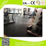 Fácil Instalación de forma cuadrada de goma para pisos en Mats gimnasio Peso Área de Uso