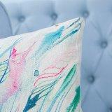 Digital-Druck-dekoratives Kissen/Kissen mit Ikat geometrischem Muster (MX-14)