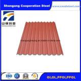 Moinho direto da telhadura da cor Roofing/PPGI do material de construção da casa