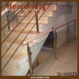 ステアケース(SJ-S130)のためのステンレス鋼のガラス手すり