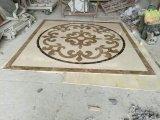 Marmorwasserstrahlmedaillon-Muster-Fußboden-Fliese