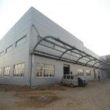Структура светлой рамки тонкостенная стальная для мастерской с панелью солнечных батарей крыши