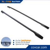 LC200 Side Racks Car Roof Rail para a terra Cruiser de Toyota