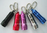 Logo Printed (4080)를 가진 승진 9 LEDs Keychain Flashlight