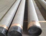 ステンレス製のSreel井戸または油井のための304/316本のレーザー細長かった包装の管