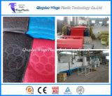 Rullo di plastica della moquette della bobina della macchina/PVC di fabbricazione della moquette del PVC producendo pianta