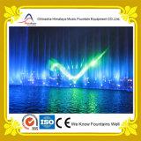 Fonte musical da projeção do laser com iluminação colorida