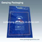 Мешок застежки -молнии мешка нижнего белья мешка платья упаковывая упаковывая (DQ166)