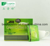 コーヒーを細くする卸売価格の自然な緑のコーヒー800 Leptin