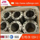 La bride d'acier du carbone de DIN2502 Pn16/Plat la bride