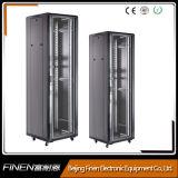 Cabinet du réseau de données électroniques au sol de 19 pouces