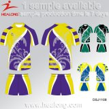 Chemise du Jersey du rugby des hommes de sublimation de vêtement de logo de mode