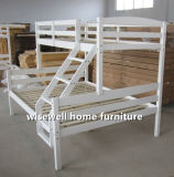 Festes Kiefernholz-Doppelbett-Schlafzimmer-Möbel-Set