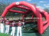 Migliore gabbia di ovatta gonfiabile popolare per i giochi di baseball