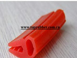 Sello de goma del PVC del silicón/sello de puerta/sello de la ventana