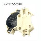 De Houder van de batterij voor Cr2032 (BS-2032-6-2DIP)