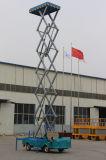 тележка 12m 14m гидровлическая воздушная установила платформу подъема неба