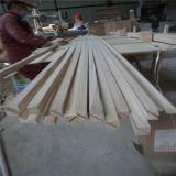 De Houten Stroken van de Driehoek van de Filets van het Hout van Paulownia van de bouw