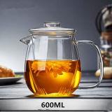 600mlガラス茶鍋の鍋及びコップが付いているハンドメイドの茶水差しのギフトのティーセット