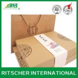 Gedruckter kundenspezifischer Kunst-Einkaufen-Geschenk-verpackenkerze-Schokoladen-Papierkasten