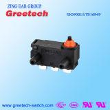 0.1A 250VAC maken Micro- die Schakelaar waterdicht in Auto en Speelgoed wordt gebruikt