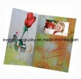 Поздравительная открытка LCD 2.4/2.8/3.5/4.3/5/7 дюймов видео- для рекламы