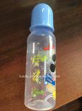 300ml pp. führende Flasche mit weicher Nippel-aufrechtem Standard