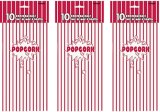 신선한 팝콘 종이상자, 서류상 팝콘 부대, 매일 사용 종이 봉지, Kraft 종이 봉지