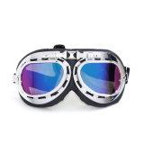 La vente en gros folâtre la moto en verre outre des lunettes de Harley de casque de route