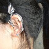 포도 수확 은에 의하여 도금되는 열등한 용 귀 팔목 귀걸이 형식 보석
