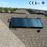 Hermoso y seguro colector solar de panel plano