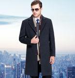 Куртка длинних вскользь людей изготовленный на заказ шерстей сбывания высокого качества горячих с кнопками