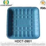 "9 "" Biodegradable de gama alta Disposable Plastic Tray para Desserts"