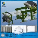 Máquina de reciclaje de papel para hacer la línea del papel de tejido facial