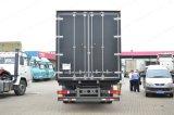 판매를 위한 Sinotruk HOWO T5g 4X2 상자 트럭 화물 밴