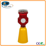 High Quality and Durable Traffic Solar Warning Light with CE Certificate