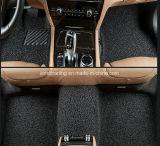 自動車のための釘の裏付けが付いているほとんどの普及した100%年のポリエステル多彩なちり止め車のフィートのマット