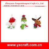 Ornamento da decoração da Noite de Natal da decoração do Natal (ZY11S82-1-2)