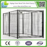 Grands panneaux galvanisés de chenil de crabot de maillon de chaîne de fil