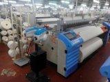 doppio telaio di tessitura del getto dell'aria del tessuto tessuto dell'ugello 1100rpm alimentatore elettronico