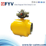 Api 6D Electric Actuator Fully Welded Ball Valve