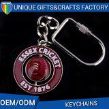 Подгонянная печать логоса конструкции с кольцами Keychain