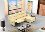 Sofà del cuoio genuino del salone (C715)