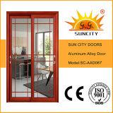 Porte coulissante en aluminium de la meilleure qualité (SC-AAD064)