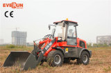 Начало Loader Qingdao Everun Wheel Loader Er16 Mini с Drum Folder