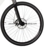 señora llena Sport E-Bici de la suspensión 700c