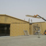Estructuras prefabricadas para el hangar del aeroplano