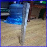 Plâtrage du talon de cornière/du talon faisant le coin galvanisé